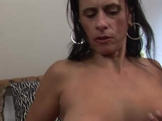 mature brunette milf big boobs 322