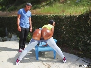 You can't take off your eyes from this big black curvy bubble butt. Her soft...