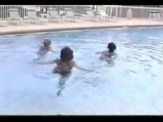 three amputee swim