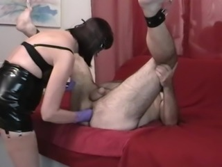 Double ass punch fisting und male squirt mit hotcouple66