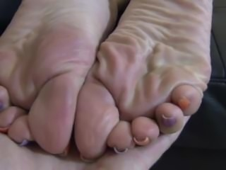 Brand New Foot Tease
