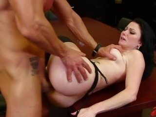 Veruca James Fucked At Work