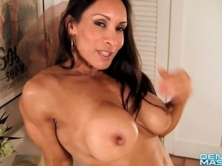 Denise Masino - Muscle and Mini Skirts - Female Bodybuilder