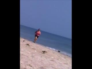 bbw bouncing tits jogging voyeur 71