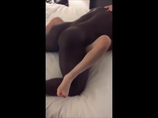Guy watch a big black fucks his wife