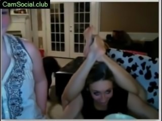 Very hot Blonde Demonstrates Tits on CamSocial.club