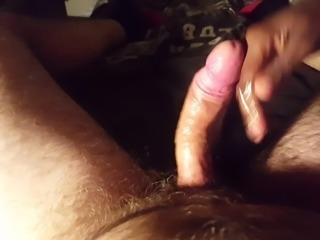 Amazing oily handjob with jizz eruption - Technique 1