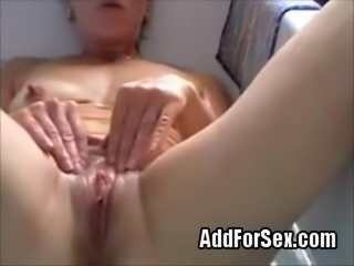 mature slut wife from AddForSex works in the bathroom