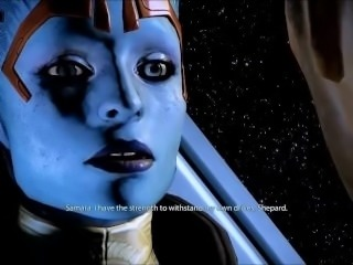 Mass Effect - Samara and Shepard Romance - Compilation