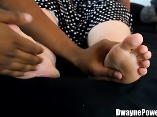 Interracial Foot Worship