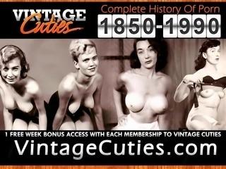 Pretty Sexy Babe Dances Seductively (1930s Vintage)