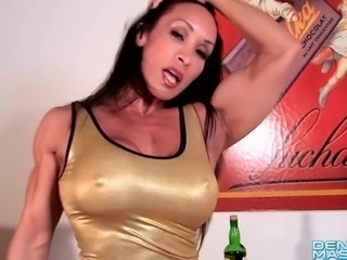 Denise Masino - Liquid Gold Love - Female Bodybuilder