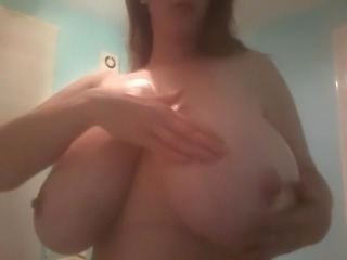 Ubelievable 32k oily saggy tits 1