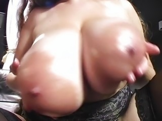 Really big tits Denise Davies