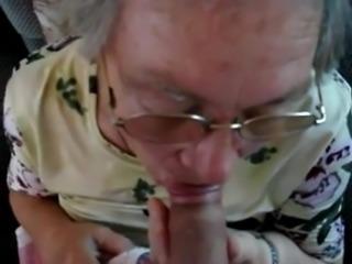Videos granny blowjob Real Blowjob