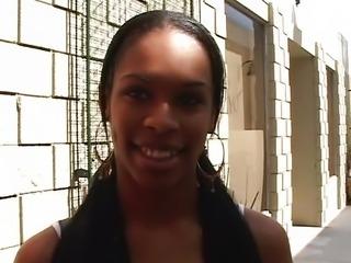 Anal with ebony Vanessa