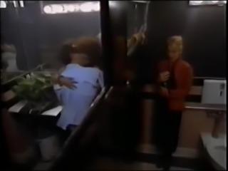 Juliet Reagh nude bathroom softcore scene