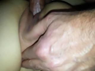 Amateur Quick Creampie !