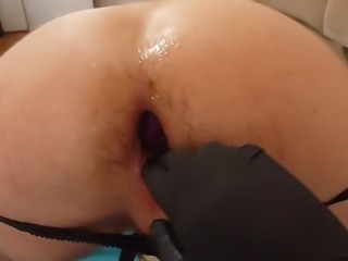 Mistress fisting my ass