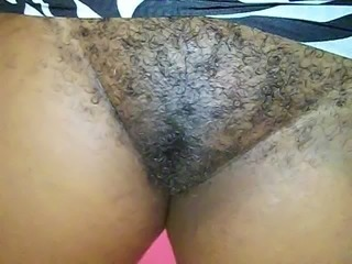 hairy Jamaican pink pussy 2