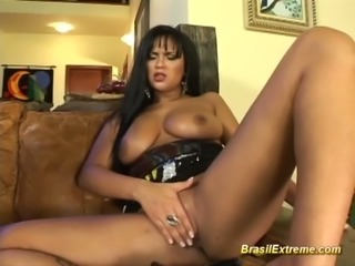 Brazilian ass exploded by monster cock