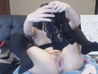 Hot babe pink pussy releasing huge amount of cum. See this horny babe making...