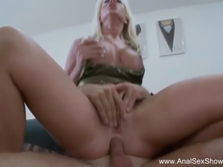 European babe Craves Deep Anal