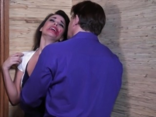 Dana has a sudden urge to suck on a huge dick. After smearing lipstick all...