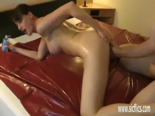 Brutally fisting hot amateur milfs greedy loose pussy
