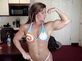 muscle woman fitness woman