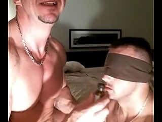 Muscle Pup Fucked by Muscle Master - More on HornyBro.com