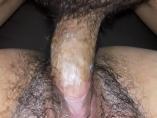 hairy mexican wife with cervical liquid 1