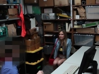 ShopLyfter- Blonde Troublemaker Fucked By Detective