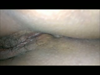 Check out the pussy of my sleeping amateur wife in bed