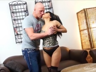 Gabby Quinteros Gets Stuffed with a Big Cock!