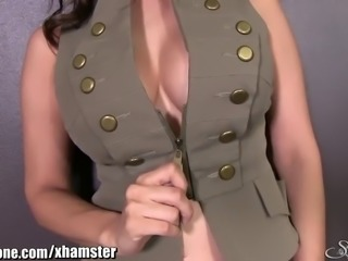 SunnyLeone Sunny Leone in her army outfit! New Solo!