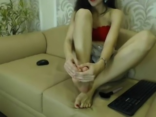 Sexy Feet in Face NO SOUND