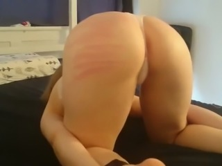 Tied up GF whipped brutally in real homemade sex tape