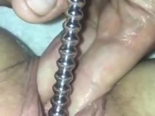 Urethral Sounding - Cumming hard and deep penetration