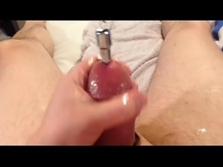 urethral sounding in extreme pump