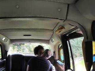 Tubby Kloe gets slammed hard in the taxi