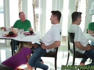 Kagney Linn Karter is happy to take her stepsons cock deep