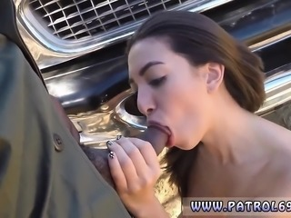 Old guy fucks young brunette and worst blowjob ever After a