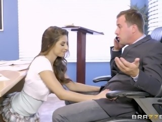 Brazzers - Nina North is a very bad schoolgirl