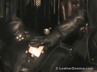 The Leather Domina - Leather Fetish - Total Leather Bondage