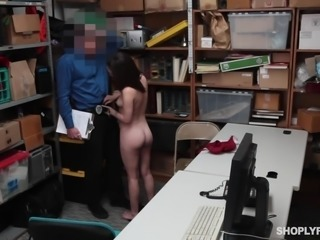 Lily Jordan got caught trying to steal some clothes. She thought she was...