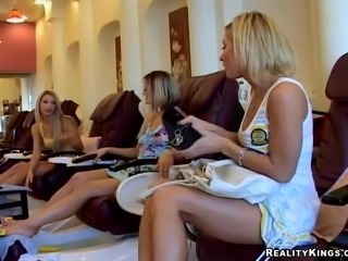 Amazing Jasmine Jolie And Her Two Dirty GFs Have Lesbian Sex