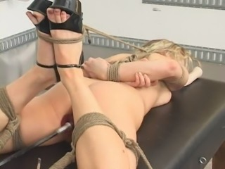bondage and fucking machines (harmony rose)-13