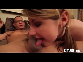 Gaping a-hole of a tranny in action