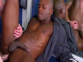Straight men go to sleep gay porn The HR meeting